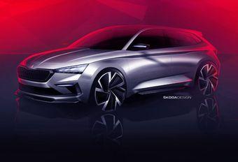 Skoda Vision RS: sportieve concept voor Parijs #1