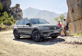 Volkswagen Tiguan Offroad: met grotere aanloophoek #1