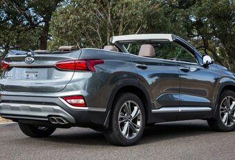 Hyundai Sante Fe als cabrio met 7 zitplaatsen #1