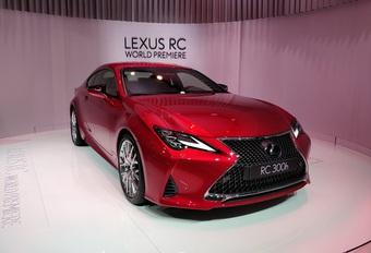 Gefacelifte Lexus RC kijkt scherper door zijn ogen #1