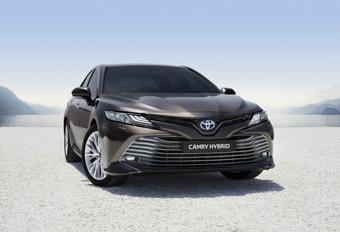 Toyota Camry: naar Europa als hybride #1