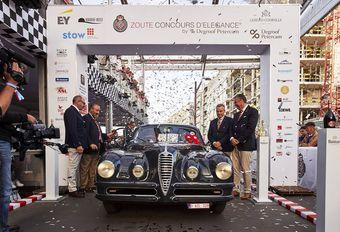 Alfa Romeo uit 1948 bekroond op Zoute Grand Prix #1