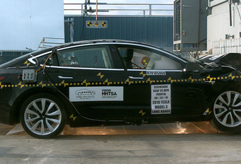 Tesla Model 3 toont zich veiligste auto ooit #1