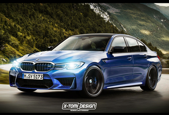 BMW M3: vierwielaandrijving zoals de M5 #1