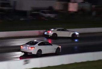 BIZAR – Hij crasht zijn GT-R tijdens een dragrace #1