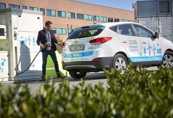 Colruyt opent een waterstofstation in Halle #1