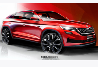 Škoda Kodiaq GT : SUV Coupé pour la Chine #1