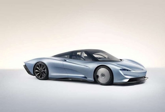 McLaren Speedtail : hyper-GT à 3 places #1