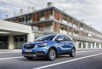 Opel Crossland X : un nouveau Diesel à boite automatique #1