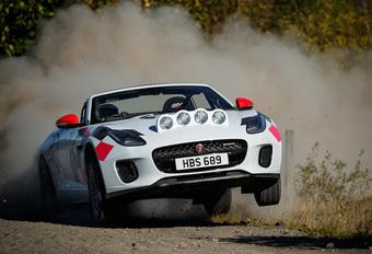 Jaguar F-Type Convertible krijgt Rally-versie #1
