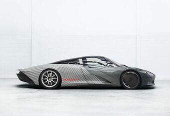 Prototype van de McLaren Speedtail heet Albert #1