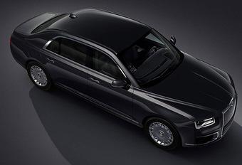 Aurus Senat is Russische antwoord op de Rolls-Royce Phantom #1