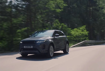 Range Rover Evoque 2019: en vidéo #1