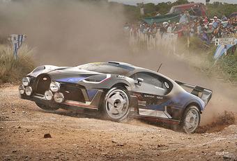 Wat als... supercars liever zouden rallyrijden #1