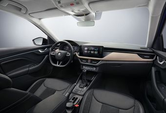 Škoda Scala : le cockpit en images #1