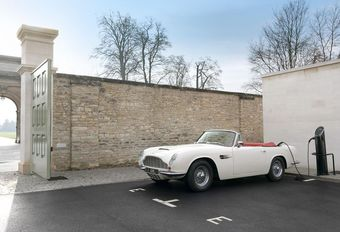 Aston Martin DB6 EV concept : reconversion #1