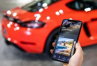 Une app road trips de Porsche #1