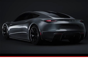 Tesla : le Roadster 2020 mis en images #1
