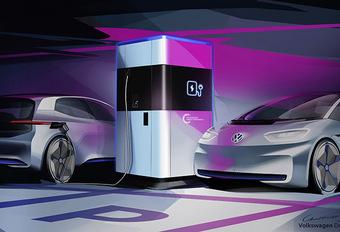 Volkswagen : Une recharge mobile pour les voitures électriques #1