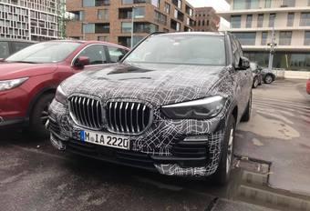 BMW X5 camouflé à Bruges #1