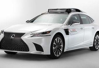 Toyota P4: een Lexus om autonoom rijden te testen #1