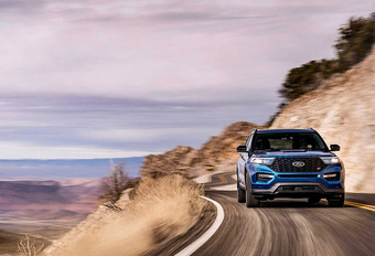 Ford Explorer ST : Hargneux #1
