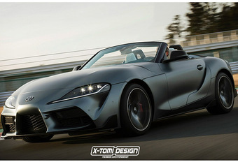 Toyota Supra : comme ça en Roadster ? #1