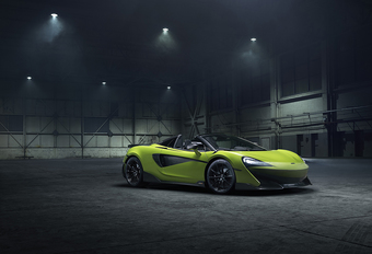 McLaren 600LT Spider : en 2019 uniquement #1