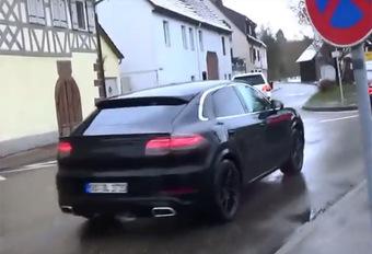 Porsche Cayenne : bientôt en coupé #1