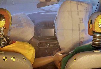 Hyundai et Kia présentent l'airbag multicollision #1