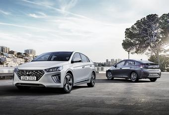 Hyundai Ioniq: kleine facelift voor hybrides #1