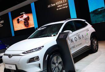 Een op vier op het Autosalon verkochte Kona's is een EV #1