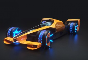 McLaren MCLExtreme is F1-wagen voor 2050 #1