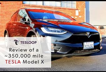 Tesla Model X: 563.000 km op de teller zonder één rimpel #1