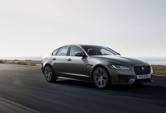 Jaguar XF diesel: nu al Euro 6d-conform #1
