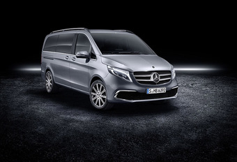 Mercedes Classe V : petit restylage #1