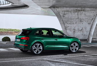 Audi SQ5 TDI : avec une hybridation douce #1