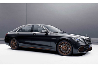 Mercedes : l'adieu au V12 avec la S65 AMG Final Edition #1