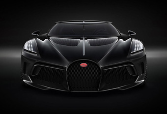 Bugatti La Voiture Noire : la voiture neuve la plus chère de tous les temps #1