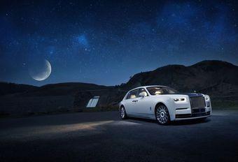 Rolls-Royce Phantom Tranquillity : météorite à bord #1