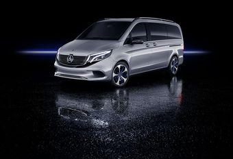 Mercedes EQV : van VIP électrique #1