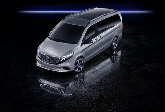 Mercedes V-Klasse als elektrische EQV #1