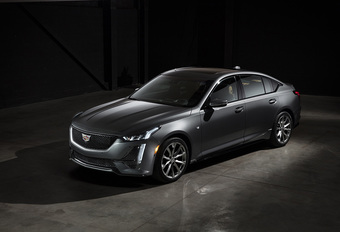 Cadillac CT5 is zwierige opvolger CTS #1