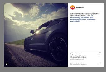 Dit is de meest geliefde auto op Instagram #1