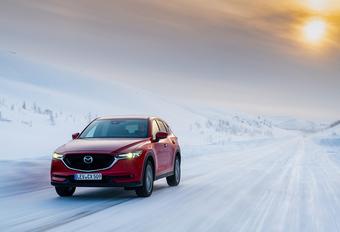 La Laponie en Mazda CX5 (1) : un hiver qui persiste #1