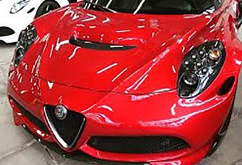 Alfa Romeo : La 4C Quadrifoglio a existé #1