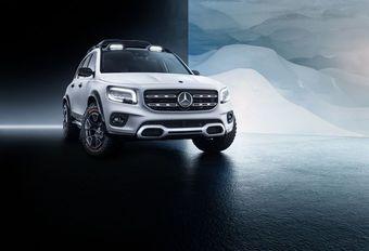 Mercedes GLB Concept is B-Klasse voor het terrein #1