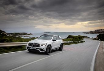 Mercedes-AMG GLC 63: facelift voor power-SUV #1