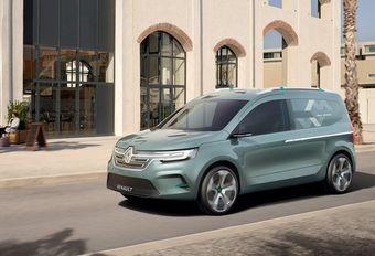 Renault Kangoo Z.E. Concept : nouvelle ligne #1