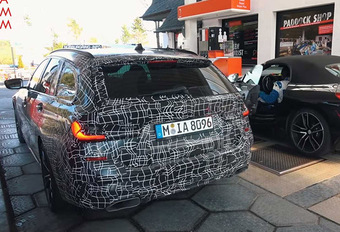BMW 3-Reeks Touring: stijl en ruimte #1